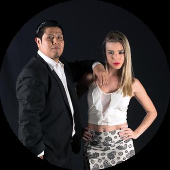 Sofi Gardella y Mauricio Dueñas